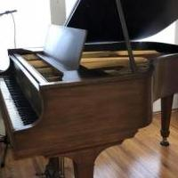 Knabe 5ft grand piano for sale in Poughkeepsie NY by Garage Sale Showcase member jlowen79, posted 10/12/2020