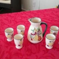 Juice /Tea Set for sale in Lawrenceville GA by Garage Sale Showcase member lifetimerkdl, posted 02/13/2020