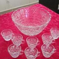 Punch Bowl for sale in Lawrenceville GA by Garage Sale Showcase member lifetimerkdl, posted 02/13/2020