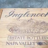 Wooden wine crate for sale in Pinehurst NC by Garage Sale Showcase member sue123, posted 06/11/2020