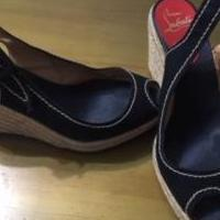 Christian Louboutin Wedges for sale in Grand Prairie TX by Garage Sale Showcase member cyt1151, posted 06/03/2020