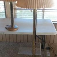 Pair of Lights for sale in Valparaiso IN by Garage Sale Showcase member dapsgtr2, posted 10/14/2020
