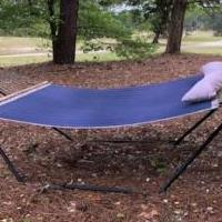 Hammock for sale in Southern Pines NC by Garage Sale Showcase member phoebe, posted 04/15/2020