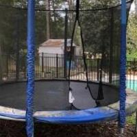 Trampoline for sale in Southern Pines NC by Garage Sale Showcase member phoebe, posted 04/15/2020