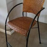 3 Pier One Counter Stools for sale in Saint Petersburg FL by Garage Sale Showcase member Frangipani, posted 05/02/2021