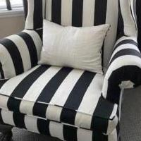 Wing Back Chairs for sale in Saratoga Springs NY by Garage Sale Showcase member Lovetoshop240, posted 08/15/2020