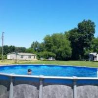 30' round above ground pool for sale in Stroh/elmira IN by Garage Sale Showcase member Johnwgraziano, posted 08/22/2020