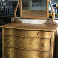 Antique dresser for sale in Columbia City IN by Garage Sale Showcase member KJ1964, posted 05/30/2020