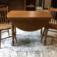Antique Table for sale in Columbia City IN by Garage Sale Showcase member KJ1964, posted 05/30/2020