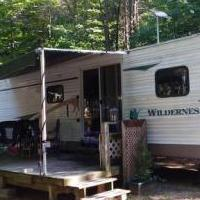 2004 39' Fleetwood RV Trailer for sale in New Era MI by Garage Sale Showcase member Perfect Getaway, posted 06/08/2020