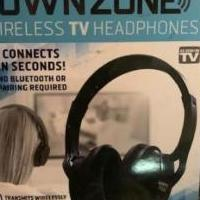 Sharper Image: OwnZone Wireless TV Headphones for sale in Statesboro GA by Garage Sale Showcase member Lavinia_Vespers, posted 01/22/2021