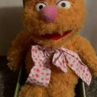Disney: The Muppets: Fozzie Plush for sale in Statesboro GA by Garage Sale Showcase member Lavinia_Vespers, posted 01/22/2021