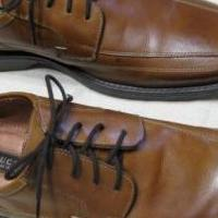 STRUCTURE ITALIAN OXFORD BROWN LEATHER SHOES SIZE 10 1/2 D for sale in Tyler TX by Garage Sale Showcase member SANDFLAT, posted 02/06/2021
