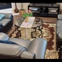 5 piece living room set for sale in Princeton TX by Garage Sale Showcase member erezgi, posted 02/27/2021