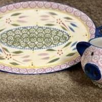 Soup and Salad Plate and Bowels for sale in Brandon VT by Garage Sale Showcase member 54 Spring Pond, posted 02/21/2021