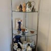 Display Etagere for sale in Rahway NJ by Garage Sale Showcase member akimmelman, posted 03/01/2021
