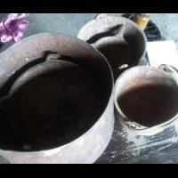 Very old Iron pots for sale in Grainger County TN by Garage Sale Showcase Member Nhileman