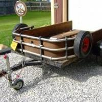 ATV Quad Snowmobile Trailer for sale in Ogemaw County MI by Garage Sale Showcase Member Mtredhead