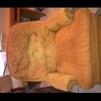 Gold Swivel Rocker for sale in Pleasanton TX by Garage Sale Showcase Member PALS Garage Sale