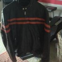Leather jacket for sale in Putnam County IN by Garage Sale Showcase Member Pennysgaragesale