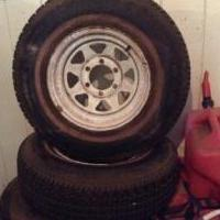Car tires for sale in Grass Valley CA by Garage Sale Showcase Member Dpettina