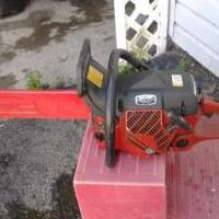 Chain Saw for sale in Washington County NY by Garage Sale Showcase Member Doggroomer1
