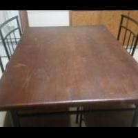 Dining table for sale in Hertford County NC by Garage Sale Showcase Member Hello2016