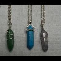 Hexagon stone necklaces for sale in BELLEVILLE IL by Garage Sale Showcase Member Jansjewelry