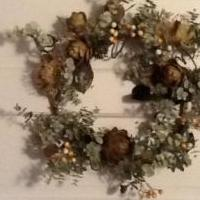 Artichoke wreath for sale in Norwalk OH by Garage Sale Showcase Member Mscreativity