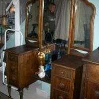 Wooden vanity for sale in Elk County PA by Garage Sale Showcase Member Beach Queen