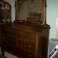 Wooden dresser for sale in Elk County PA by Garage Sale Showcase Member Beach Queen