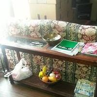 Sofa Table for sale in Plano TX by Garage Sale Showcase Member Myrtlesr