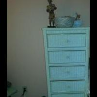 Wicker Chest of Drawers for sale in Plano TX by Garage Sale Showcase Member Myrtlesr