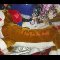 LOVE PUPPY LONG STUFFED PUPPY for sale in Dexter MO by Garage Sale Showcase Member GSS Member 2793