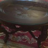 Vintage EAGLE COFFEE TABLE ORNATE COOL for sale in Sandusky OH by Garage Sale Showcase Member Agenuinetreasure