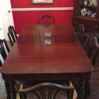 Dining room set, vintage 1930's three piece Thomasville for sale in Richardson TX by Garage Sale Showcase Member Vera1913