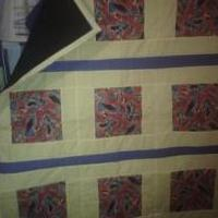 Batman Quilt for sale in Baker County FL by Garage Sale Showcase Member Ruths Handmaid Crafts And More
