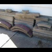 Landscape edging Blocks for sale in Jones County IA by Garage Sale Showcase Member My Random Things