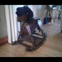 Giant Rocking Horse for sale in Jones County IA by Garage Sale Showcase Member My Random Things