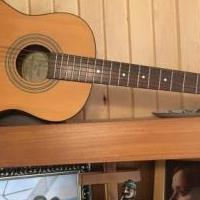 Fender Acoustic Guitar (signed by George Strait) for sale in Norwalk OH by Garage Sale Showcase member Helge65, posted 08/19/2019