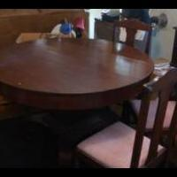 Dining table with 6 chairs for sale in Chico CA by Garage Sale Showcase Member Gabound2016
