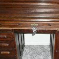 ANTIQUR ROLL TOP DESK for sale in Caseville MI by Garage Sale Showcase member budman, posted 12/12/2019