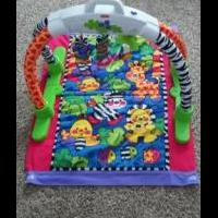 Fisher Price Infant Jungle Mat w/ Storage/Carrying Case for sale in North Liberty IA by Garage Sale Showcase Member Jsknight007