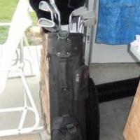 Golf Clubs & Golf Bag for sale in North Liberty IA by Garage Sale Showcase Member Jsknight007