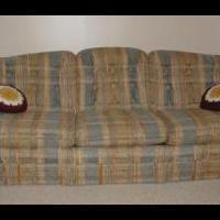 Sofa Bed for sale in Decatur IN by Garage Sale Showcase Member Cleaning House