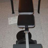 Weider Model 155 weight bench for sale in Decatur IN by Garage Sale Showcase Member Cleaning House