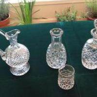 Waterford Decanters for sale in Milford PA by Garage Sale Showcase Member Syntagma