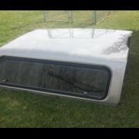 Fiberglass topper for sale in Cedar County IA by Garage Sale Showcase Member Le208710