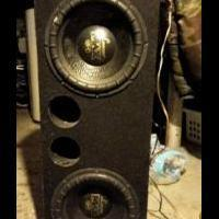 Audio equipment for sale in Niagara Falls NY by Garage Sale Showcase Member AltonPurvis38