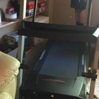 Pro form crosswalk fit treadmill for sale in Cincinnati OH by Garage Sale Showcase member Brutus Cincinnati Garage Sale, posted 11/05/2019